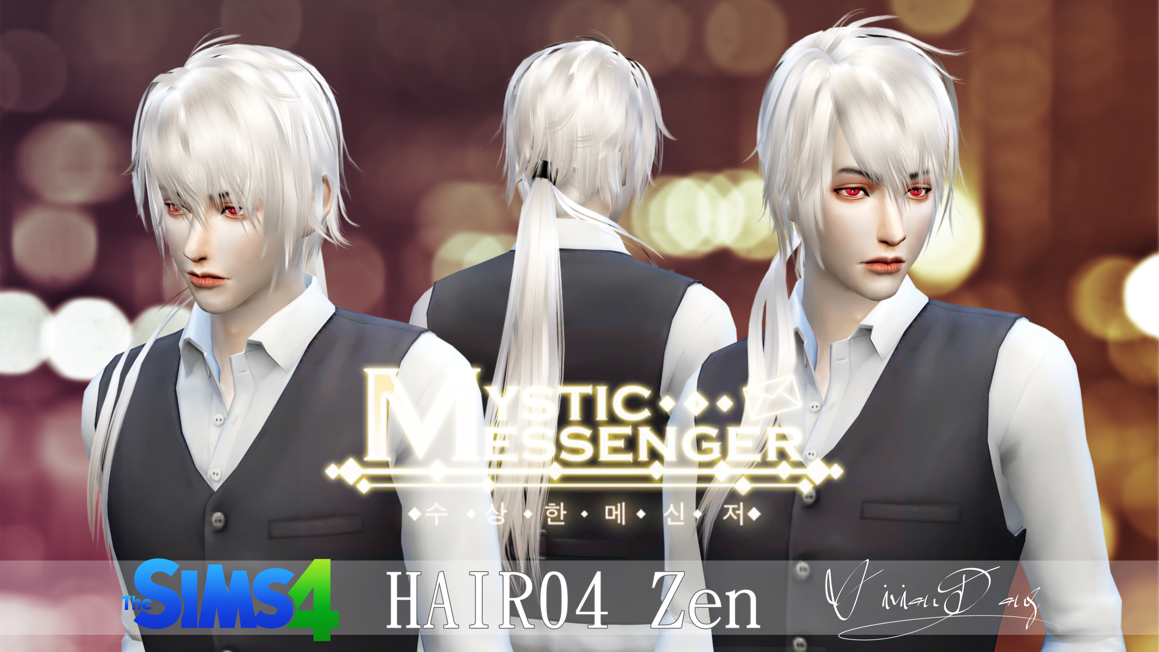 The Sims 4 Zen Hair The Sims Asia Sims4 Pinterest