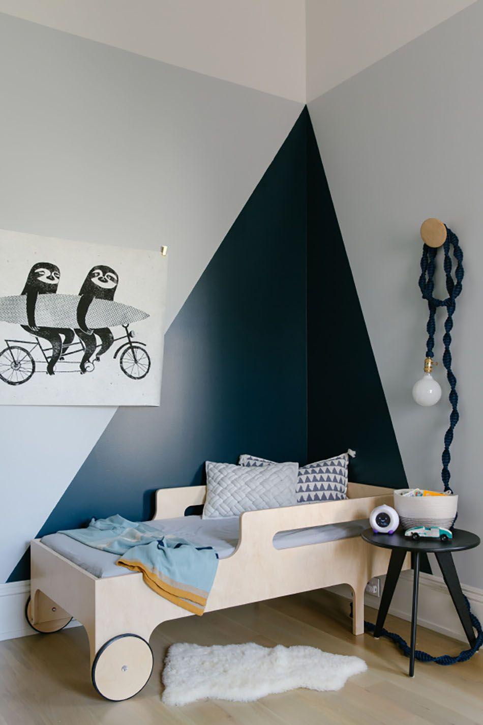 Apartment 34 Erin Hiemstra Boy Room Paint Modern Toddler Room