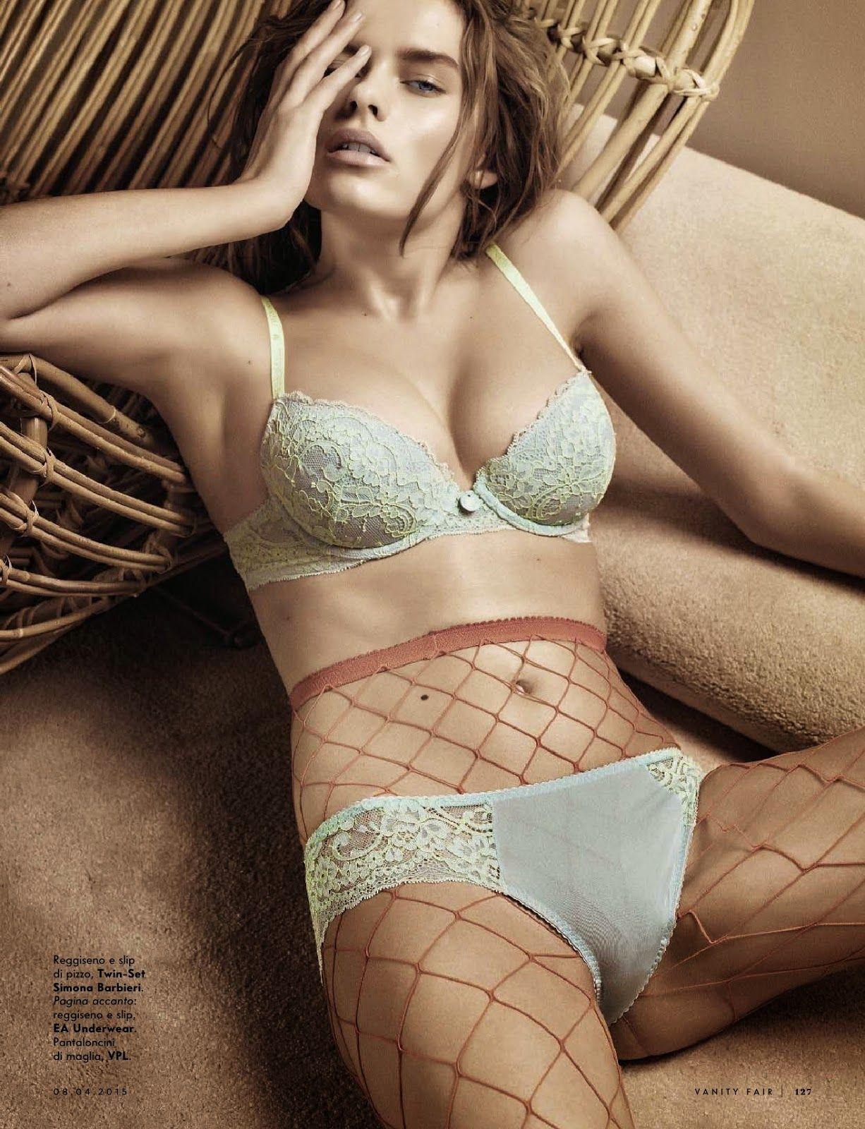Desideri in Rete Solveig Mork Hansen for Vanity Fair Italy April