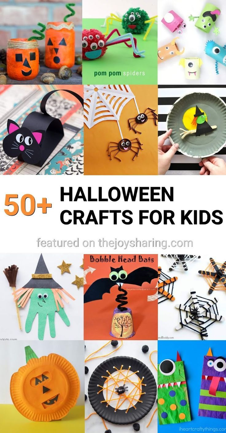 Fall Halloween Crafts.900 Halloween Crafts And Ideas For Kids Halloween Crafts Crafts Halloween Activities
