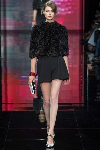 Armani Privé Fall 2014 Couture Collection Slideshow on Style.com