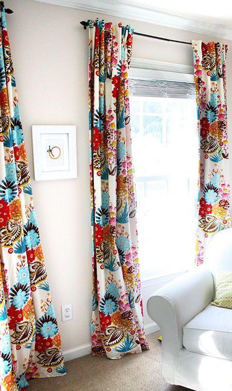 Boho Curtains W Blackout Lining 2 Panels Of 40wx84l Girls