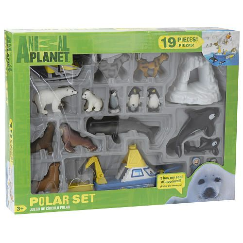 Animal Planet Playset - Polar By: Toys R Us | Cool gifts for ... on animal safari wildlife, fisher-price farm animal set, farm animal safari set, animal planet wildlife tree house bridge, animal planet wildlife family, lego wildlife set, ocean sea animal set, animal planet wildlife game, jurassic park toy set, animal toys,