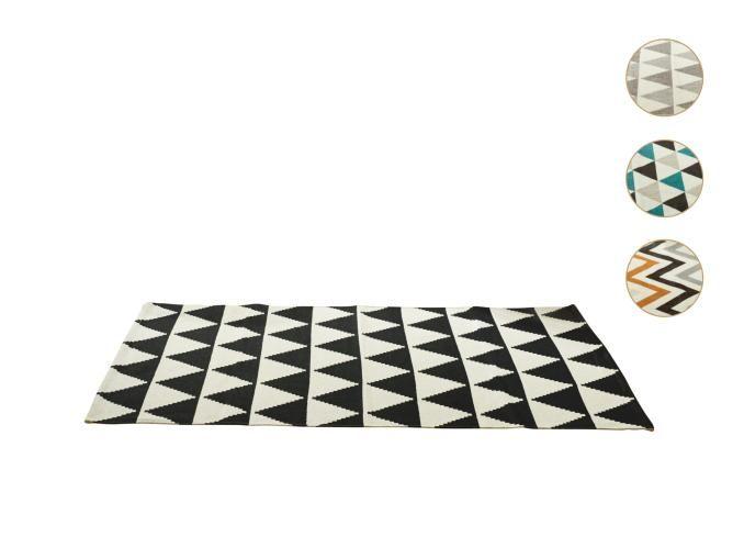 Meradiso Cotton Rug Modern Wear Resistant Woven Design