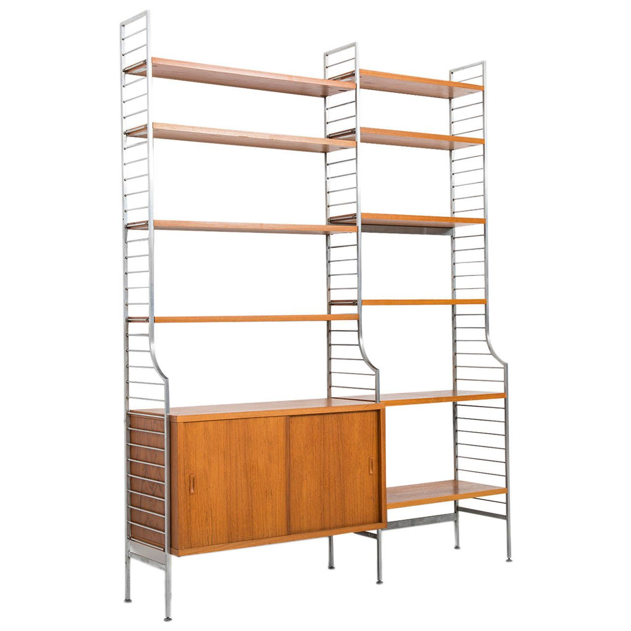 nisse strinning continental shelf system by string design ab in sweden shelf system shelves. Black Bedroom Furniture Sets. Home Design Ideas