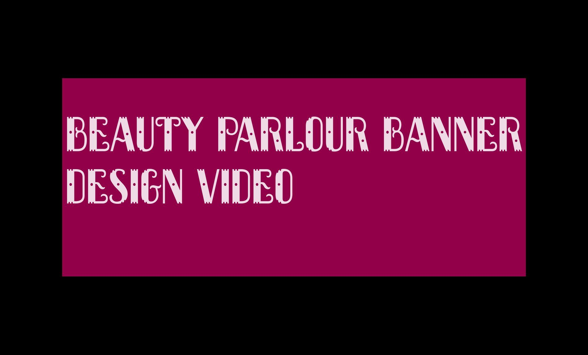Beauty Parlour Banner 45db0422b5bb69 Beauty Parlor Banner Design Banner