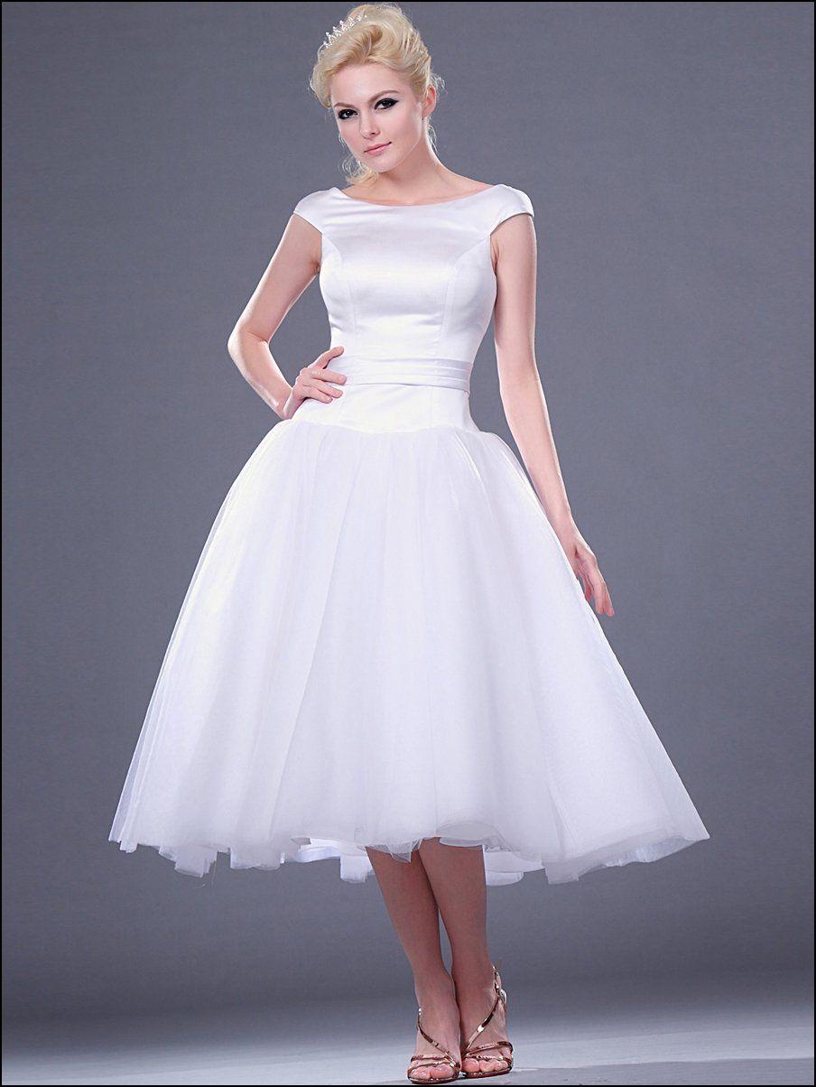 Wedding dresses tea length  tea length wedding dresses  Bing images  Wedding  Pinterest  Tea