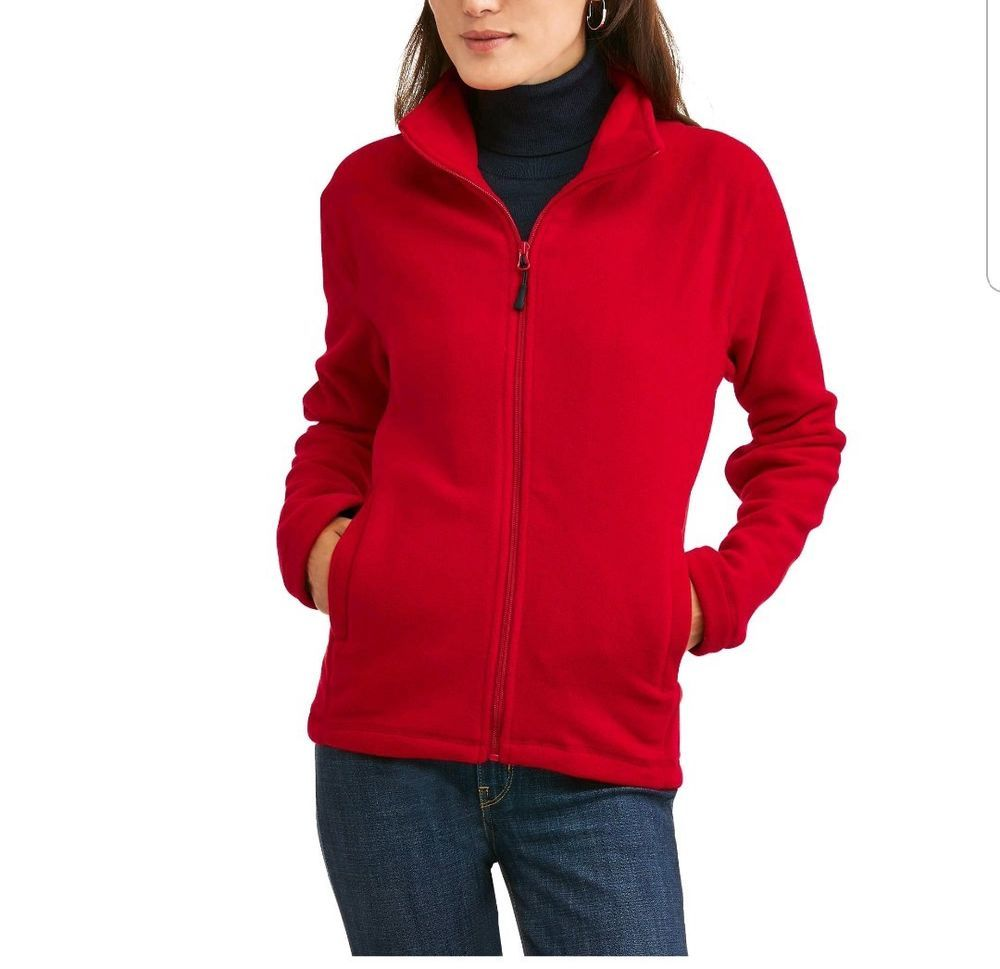 Brand New With Tags Will Ship Same Day If Ordered By 2pm Cst Combined Shipping Is Available Ebay Red Fleece Jacket Womens Long Sleeve Shirts Denim T Shirt [ 969 x 1000 Pixel ]