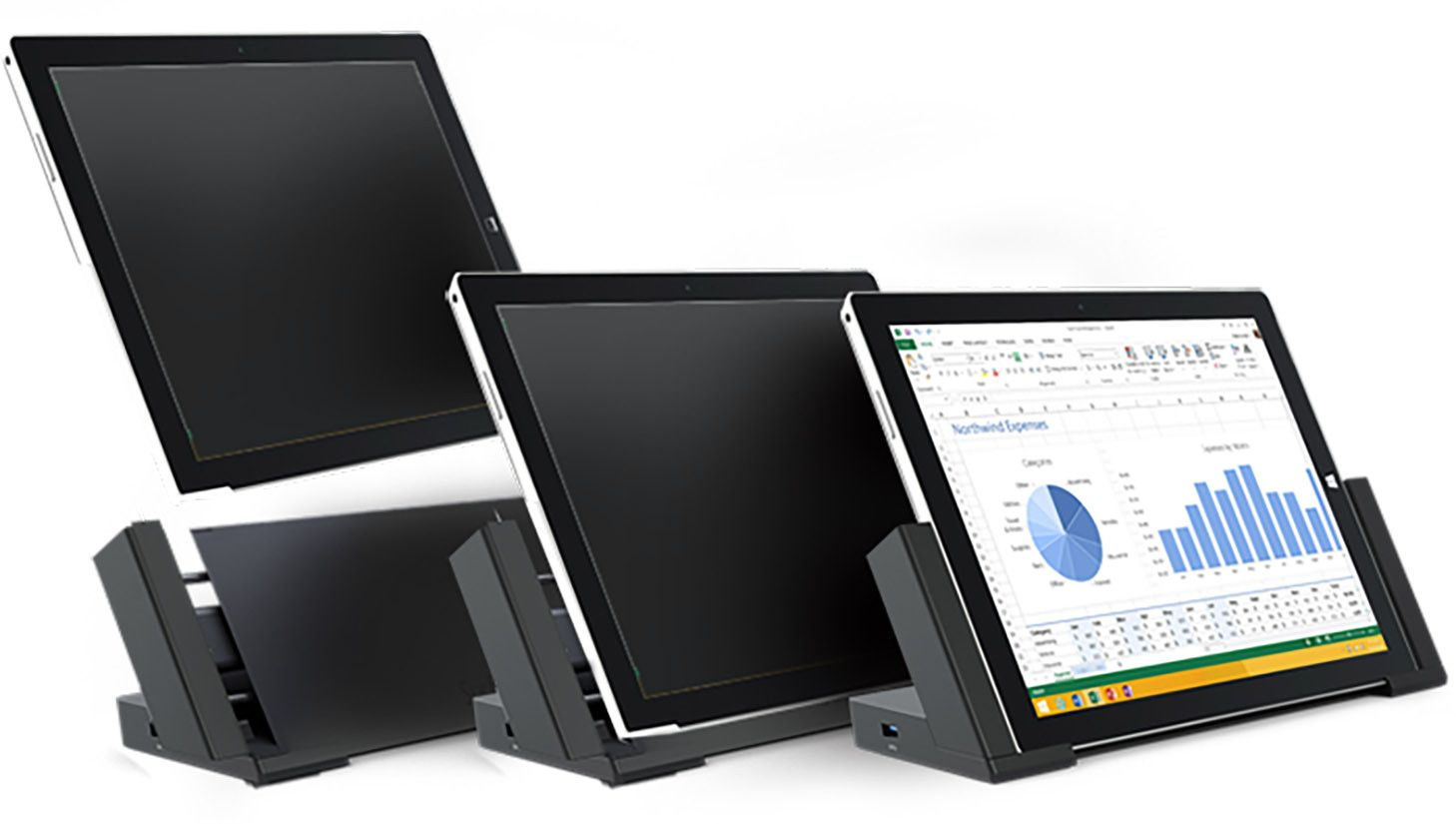 Put Your Surface Pro 3 Dock Into Use With Your Surface Pro 4 Surface Pro Docking Station Microsoft Surface