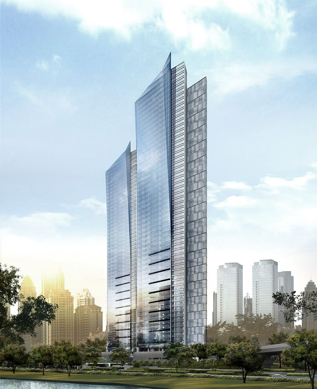 uc concept architectural design ltd. Domaine Tower Jakarta  209 m UC completion architect SCDA Architects 1 2017