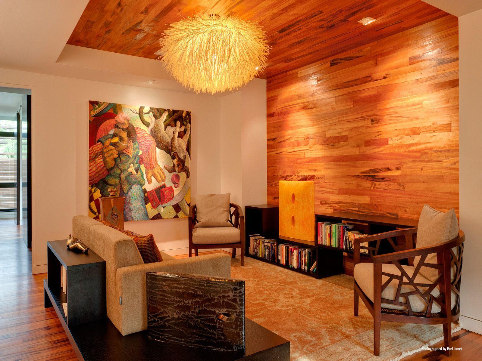 70 Moderne, Innovative Luxus Interieur Ideen Fürs Wohnzimmer    Holzoberflaeche Modern Bequem Stuhle Design Wohnbereich