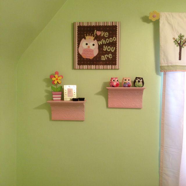 Adeline's actual room!