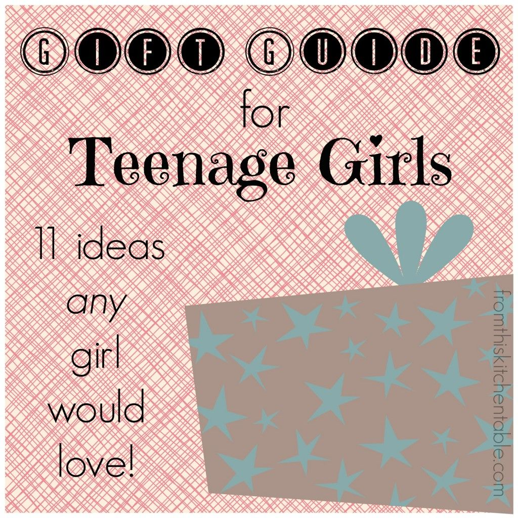 Gift Guide for Teenage Girls | Gift guide, Ideas for birthday ...