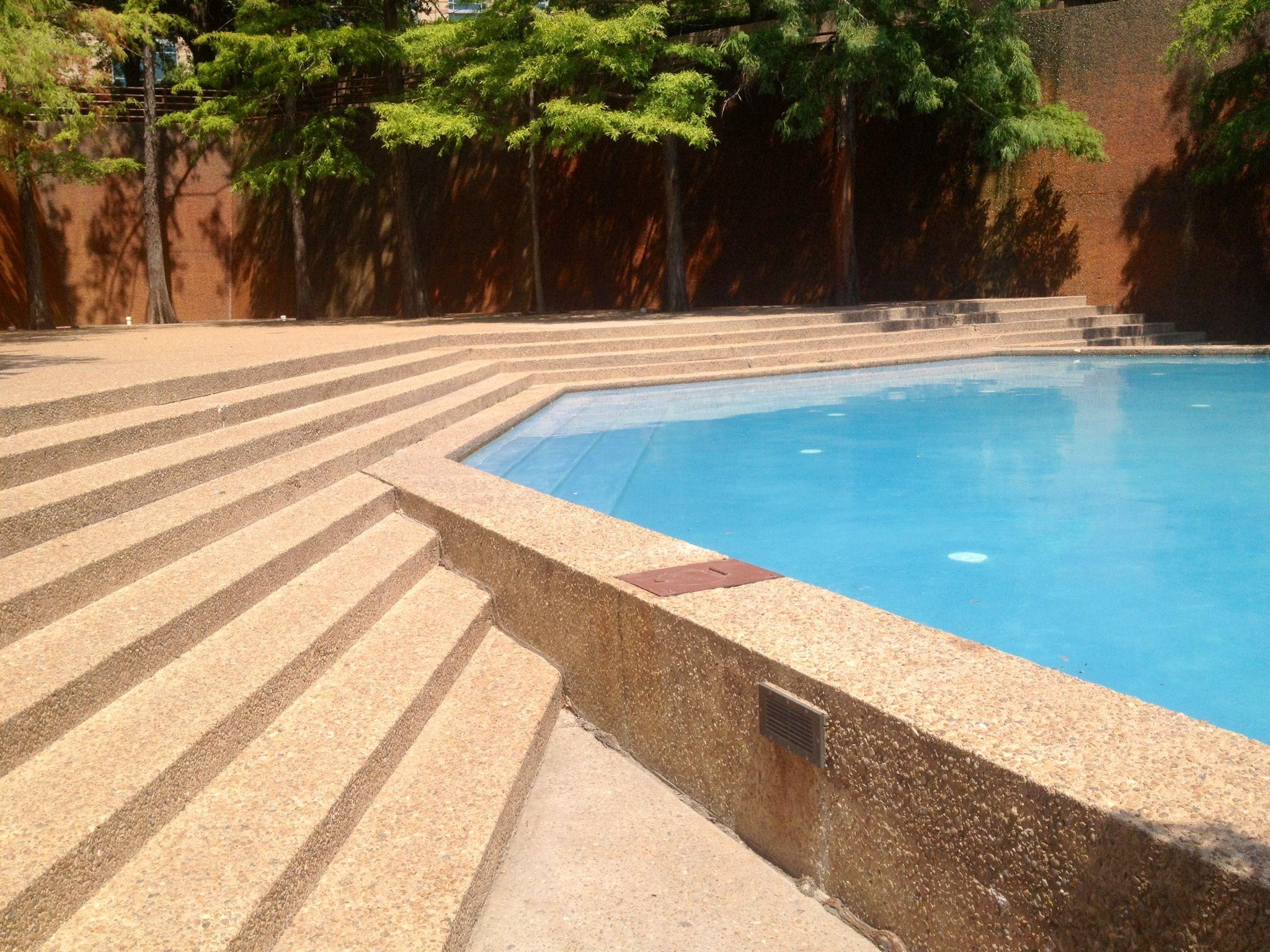 """Quiet Pool"" Water Gardens. Fort Worth, Texas Dream"