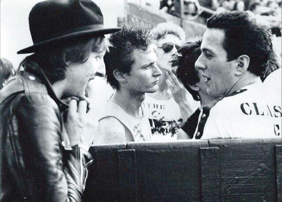 The Clash Joe Strummer RIP Mens Tee Punk Rock