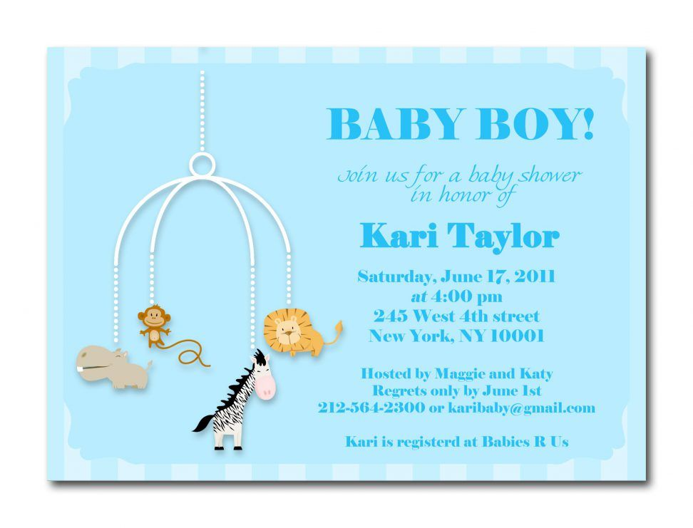 Make Baby Shower Invitations Online