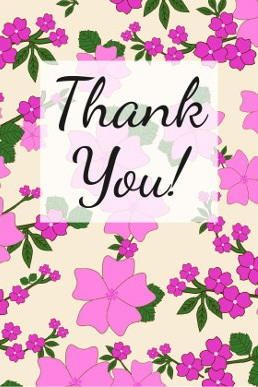 beautiful thank you cards