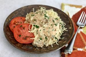 What's for dinner? Choose from 30 flavorful chicken and pasta dishes, including casseroles, skillet dishes, and pasta sauces with chicken.: Crock Pot Chicken Parisienne With Sour Cream Sauce