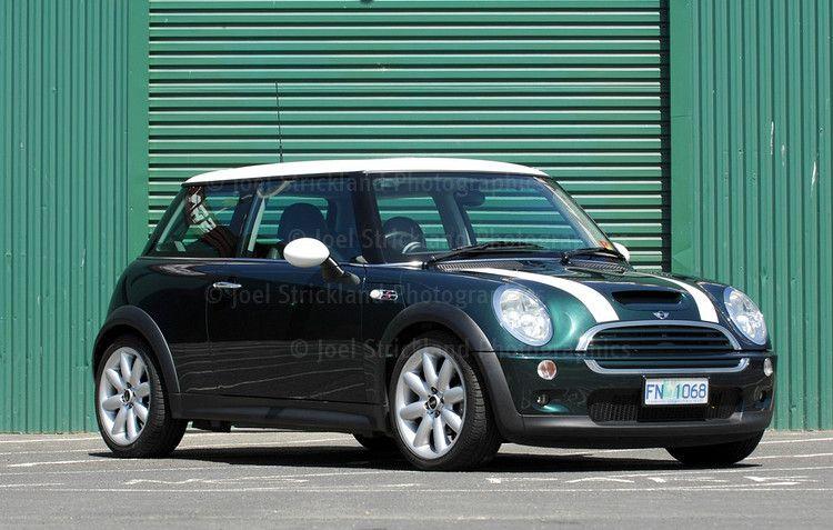 I Love My British Racing Green Mini Cooper S