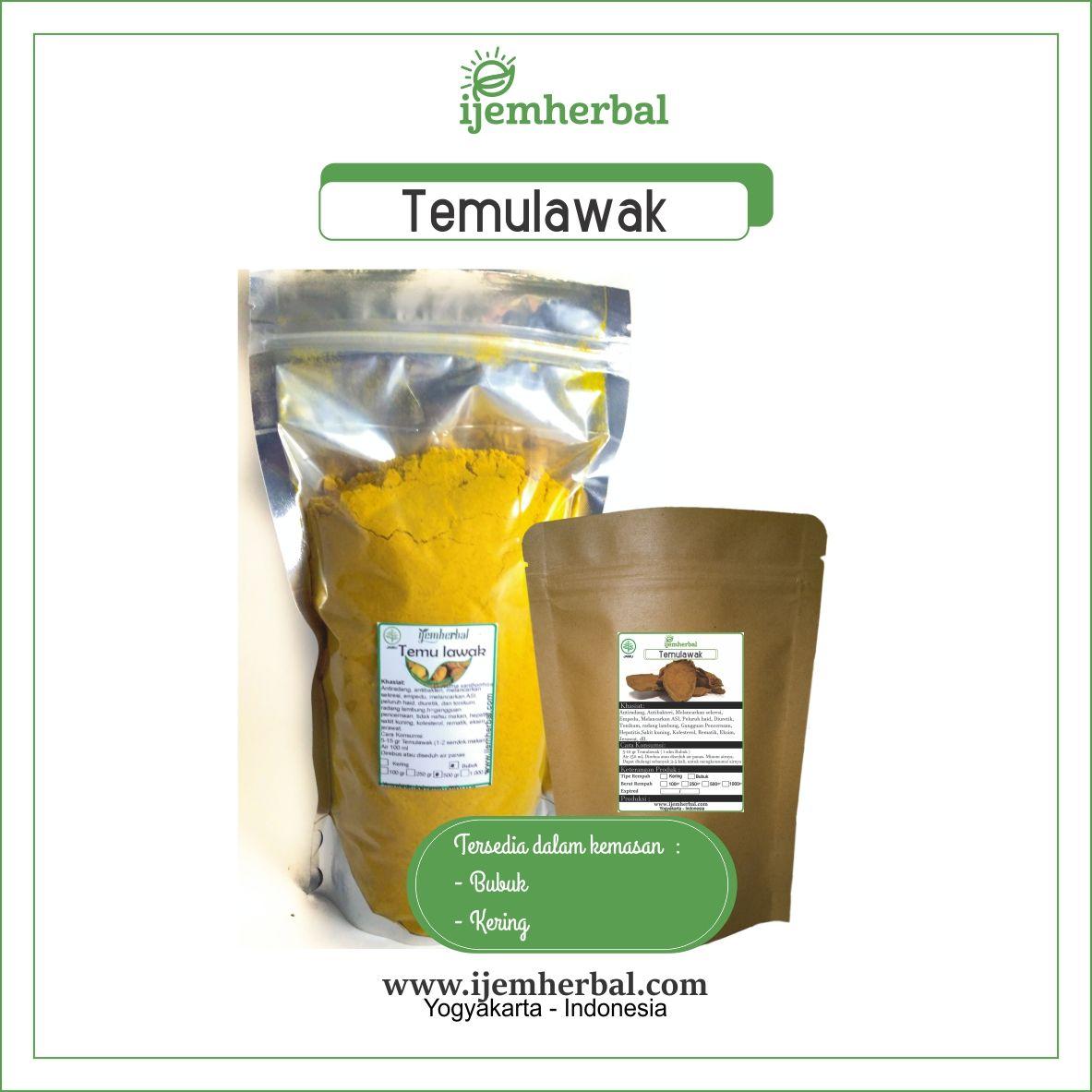 Temulawak Stevia Kunyit Rempah