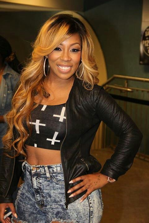 Pin By Mackenzee Sedlak On Love Hair Styles Black And Blonde K Michelle