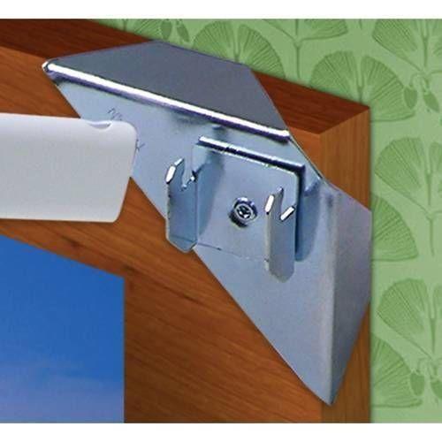 4 E Z Curtain Rod Holders 2 Windows Hangers Instant Up Ez Https