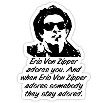 Who played eric von zipper