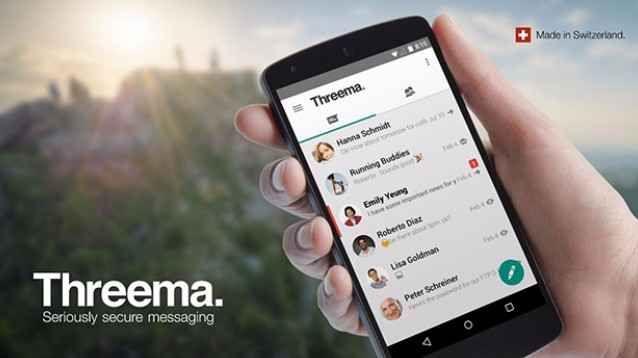 Threema, l'app di messaggistica più sicura e riservata al mondo Le funzionalità in questione, in dotazione all'applicazione Threema, sono davvero tante e tutte molto valide: a tal proposito, sembra che i ragazzi che si celano dietro tale progetto abbiano assunto  #apps #security #hacker #threema