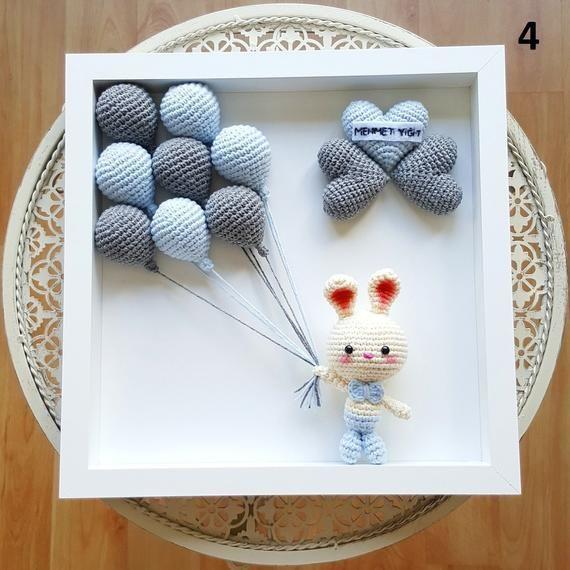 Photo of Personalized amigurumi, christmas gift,crochet goat,crochet toy newborn gift,chi…