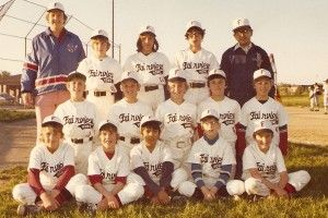Little League Team In Downers Grove Illinois 1974 Little League Baseball Uniform Downers Grove