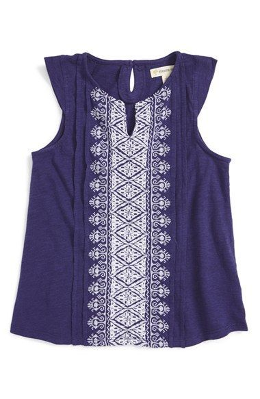 caf35589acf8 Tucker + Tate Embroidered Tank (Toddler Girls