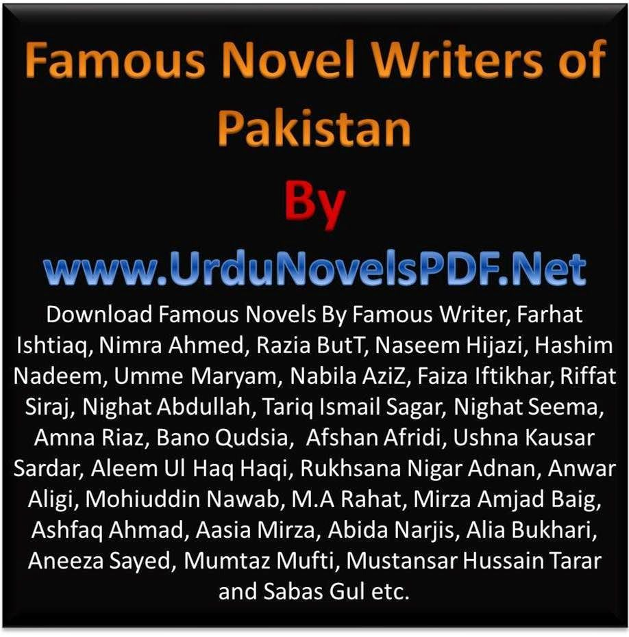 Famous Novel Writers of Pakistan PDF Free Download | Famous Urdu Novels and  Digest
