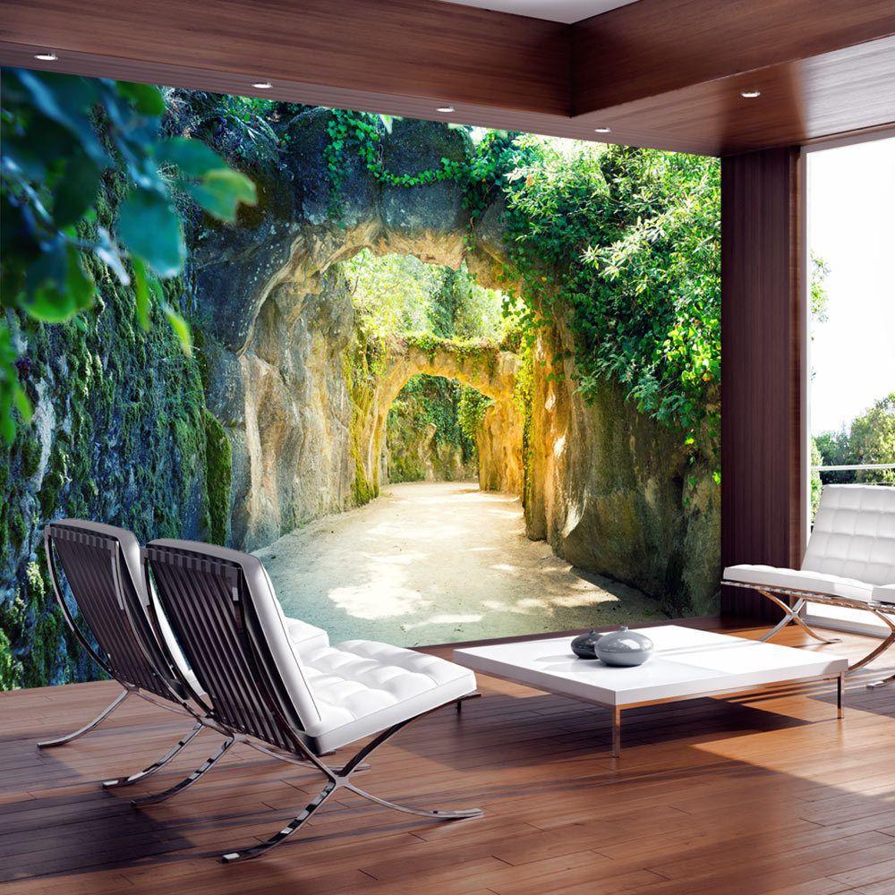 vlies fototapete tapeten xxl wandbilder tapete pergola c-b-0067, Wohnzimmer dekoo