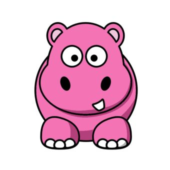 fat cartoon animals hippo cartoon pink design by ironydesigns rh pinterest co uk hippo clipart png hippo clipart black and white