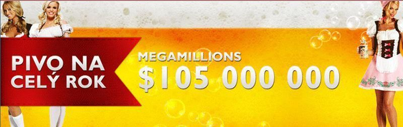 Yes, the jackpot has now climbed so high + BEER chance to win a year.        MEGAMILLIONS o $105 000 000      POWERBALL o $100 000 000      EUROMILLIONS o €46 000 000    Where, after such a big win to go relax?