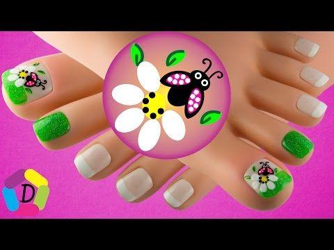 Mandala decoraci n de u as para pies f cil youtube u as pinterest decoraci n de u as - Decoracion facil de unas ...