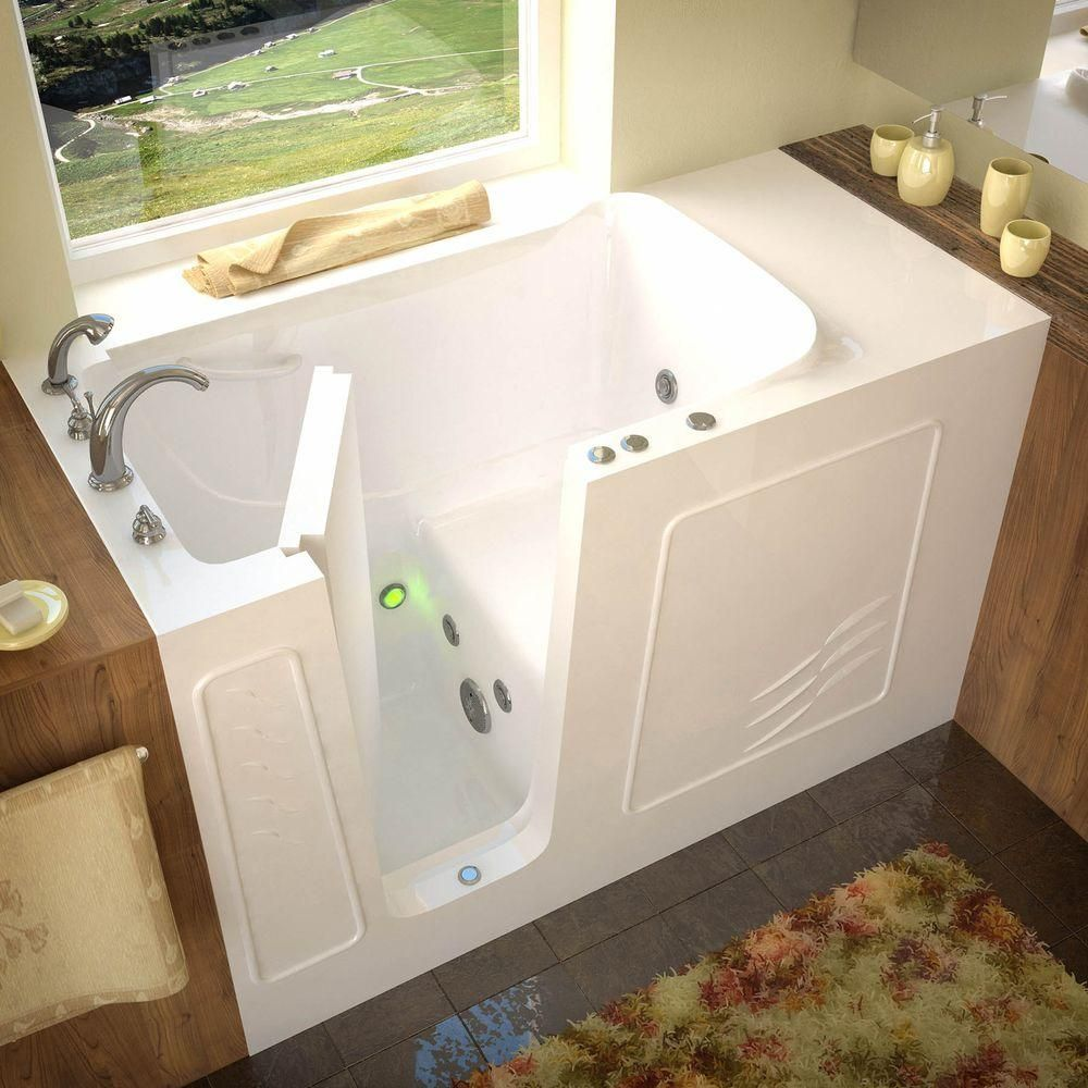 Universal Tubs Hd Series 60 In Left Drain Quick Fill Walk In