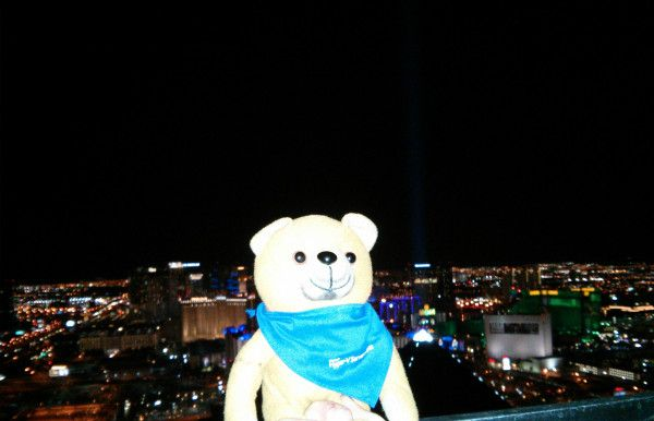 On top of the strip #MMS2013