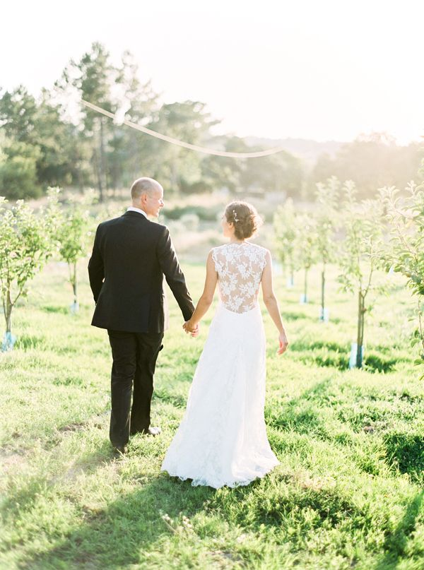 Branco Prata Photography- Sheer back wedding dress