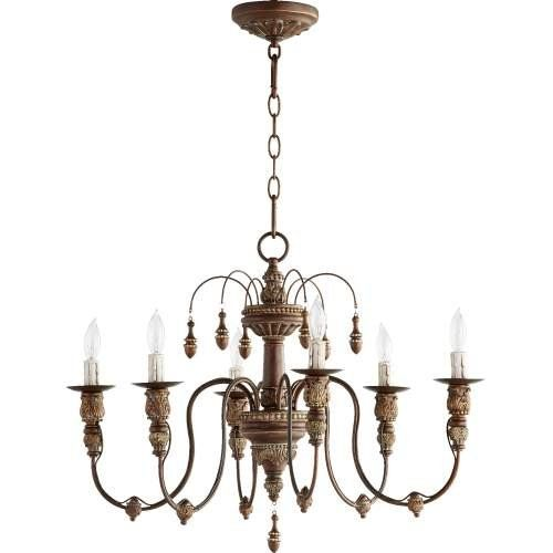 "New living room chandelier.   ************************************ Quorum 6316-6-39 - Salento 25"" /6 Light Chandelier in Vintage Copper Quorum http://www.amazon.com/dp/B010MVXMLK/ref=cm_sw_r_pi_dp_7dn2wb19A5VC2"