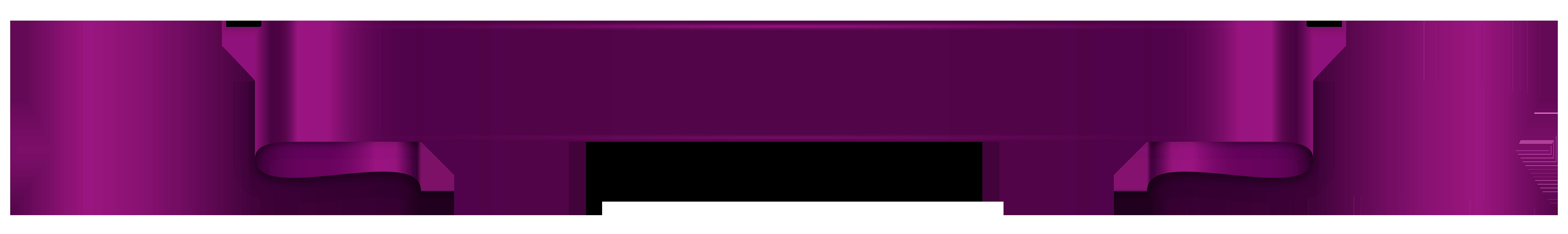 Purple Banner Transparent Png Clip Art Clip Art Banner Free Clip Art