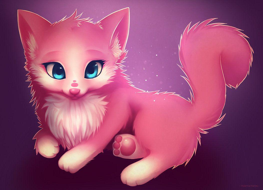Аниме картинки милые животные