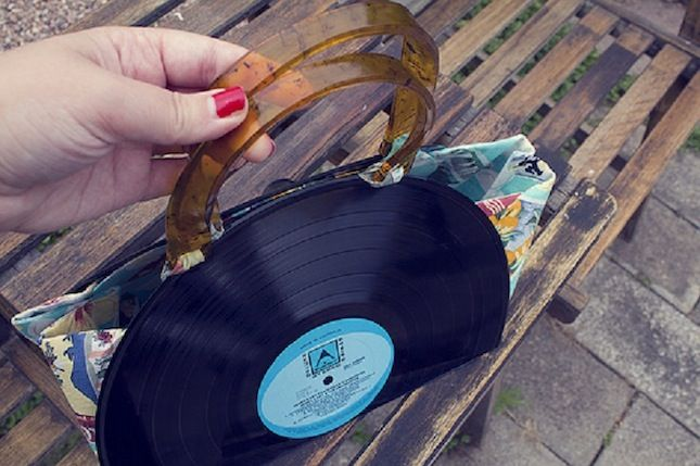 15 Rockin Projects That Repurpose Vinyl Records Vinyl Records Diy Record Crafts Old Records