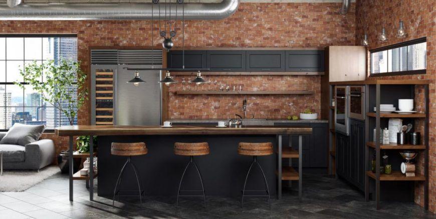101 Industrial Kitchen Ideas Photos In 2021 Industrial Style Kitchen Industrial Kitchen Design Industrial Kitchen
