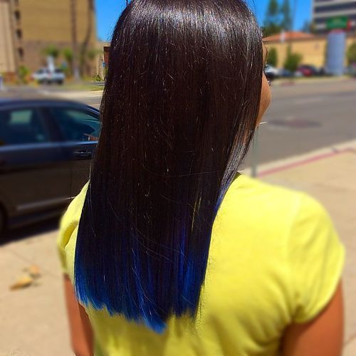 30 Fairy-Like Blue Ombre Hairstyles | Blue ombre, Blue ombre hair ...
