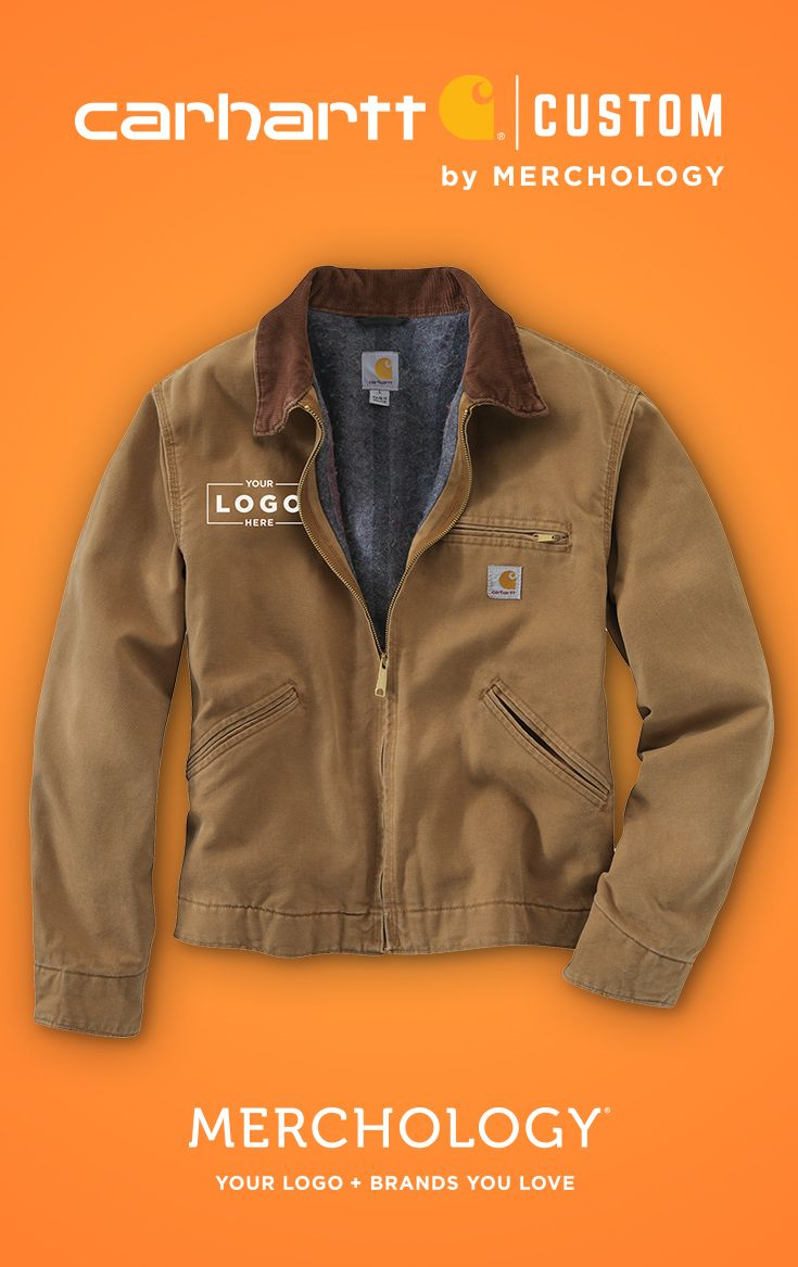 Get Your Logo On Carhartt Jackets Carhartt Jacket Mens Jackets Carhartt Mens Jacket [ 1167 x 735 Pixel ]