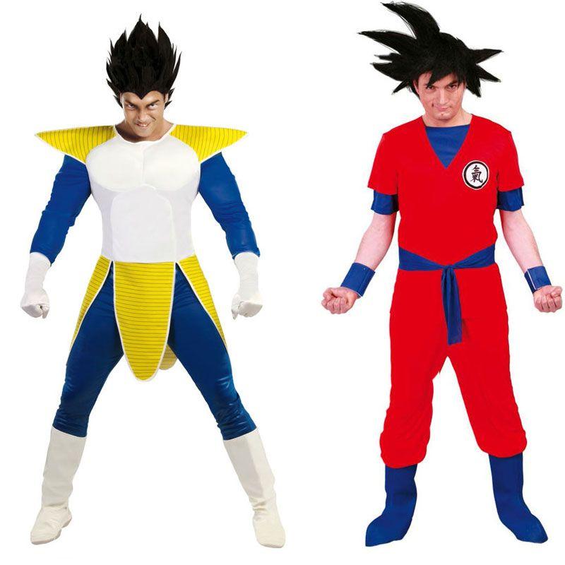 Deguisements Dragon Ball Vegeta Et Goku Costume Guerrier Deguisement Deguisement Dragon