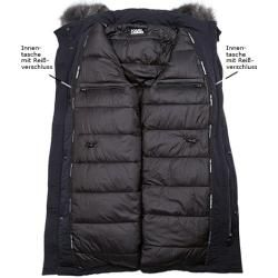 Photo of Karl Lagerfeld chaqueta parka hombre, microfibra, azul Karl LagerfeldKarl Lagerfeld