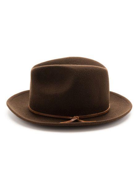 Luke Vintage Fedora Brown Fedora Hats For Men Hats Vintage