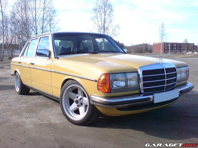 W123 With Amg Wheels W123 Pinterest Mercedes W123 Mercedes